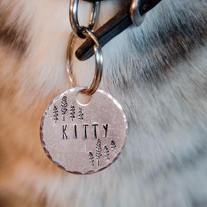 Nature Cat- Kitty Tag - Copper Paws Dog Tags
