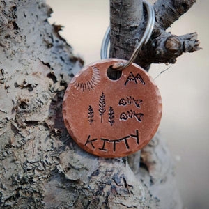 Fish Fry- Kitty Tag - Copper Paws Dog Tags