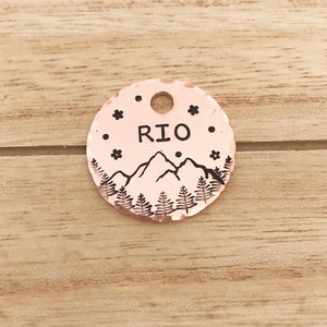 Orion- Kitty Tag - Copper Paws Dog Tags