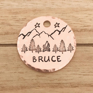 Firelight- Simple Style - Copper Paws Dog Tags