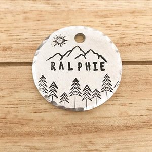Rico- Simple Style - Copper Paws Dog Tags