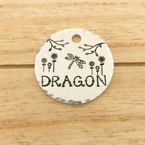 Dragonfly- Spring Collection - Copper Paws Dog Tags