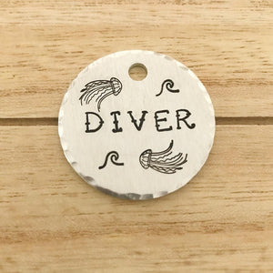 Diver- Summer Collection - Copper Paws Dog Tags