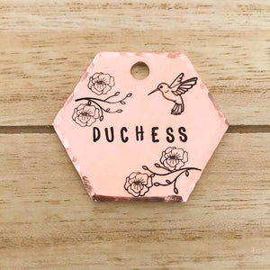 Blossom- Spring Collection - Copper Paws Dog Tags