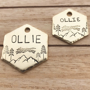 Alpha- Buddy Tags - Copper Paws Dog Tags