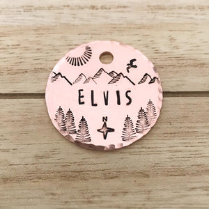 North- Simple Style - Copper Paws Dog Tags