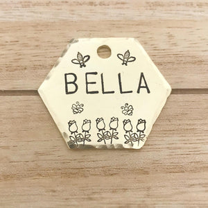 Bumble- Spring Collection - Copper Paws Dog Tags