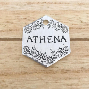 Athena- Spring Collection - Copper Paws Dog Tags