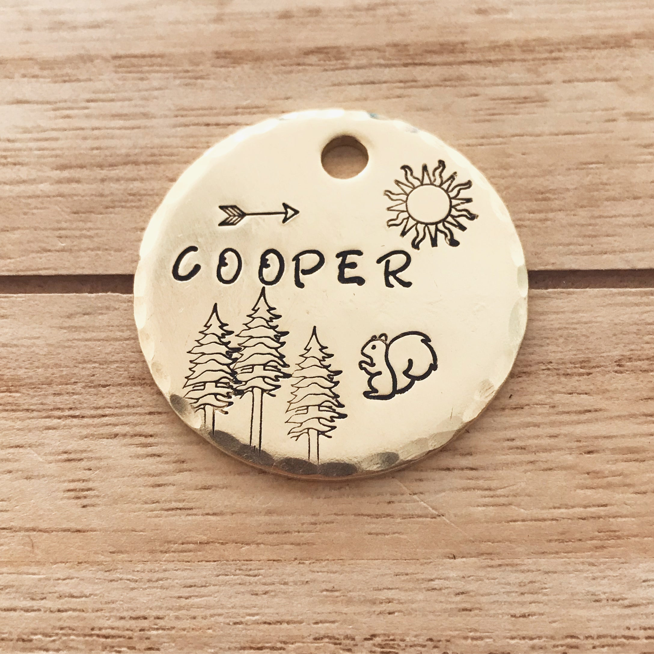 Shelby- Simple Style - Copper Paws Dog Tags