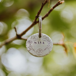 Fauna- Spring Collection - Copper Paws Dog Tags