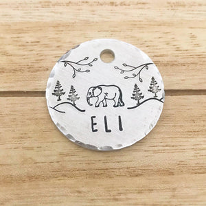 Eli- Simple Style - Copper Paws Dog Tags