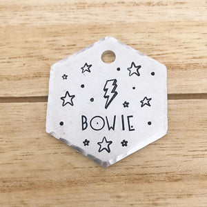Bowie- Simple Style - Copper Paws Dog Tags