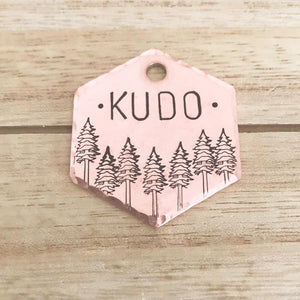 Reno- Simple Style - Copper Paws Dog Tags