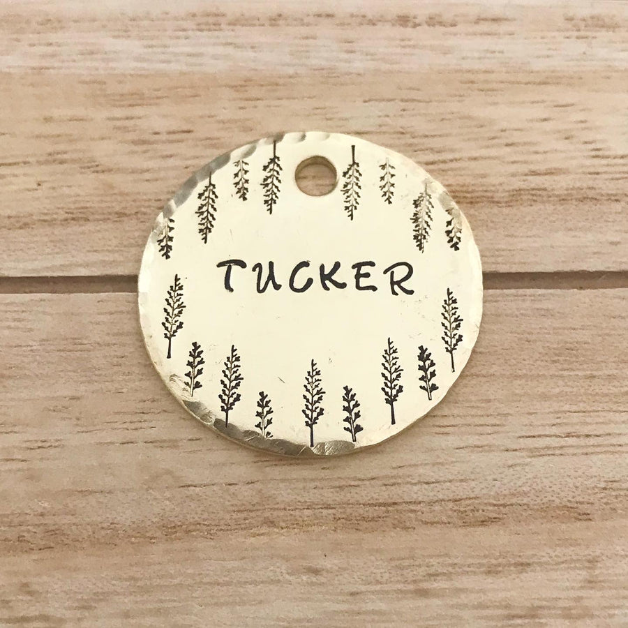 Harper- Simple Style - Copper Paws Dog Tags