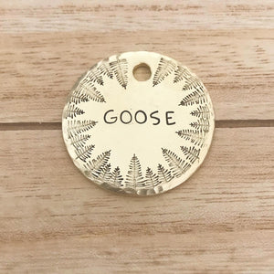 Treehugger- Simple Style - Copper Paws Dog Tags