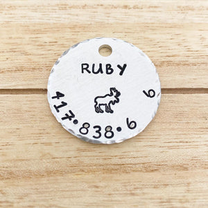 Single-Sided Curvy Tag