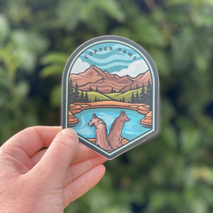 Alpine Lakes Sticker
