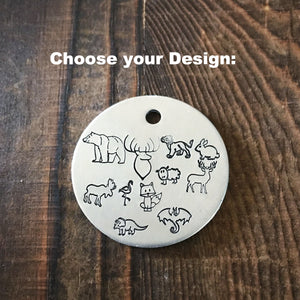 Animal Choice- Simple Style - Copper Paws Dog Tags