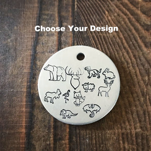 Animal Choice- Kitty Tag - Copper Paws