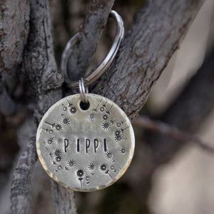 Wildflower- Spring Collection - Copper Paws Dog Tags