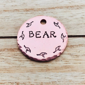 Kanga- Simple Style - Copper Paws Dog Tags