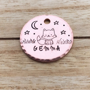 Starlite- Simple Style - Copper Paws Dog Tags