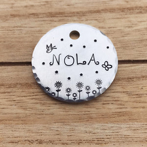 Daisy- Spring Collection - Copper Paws Dog Tags