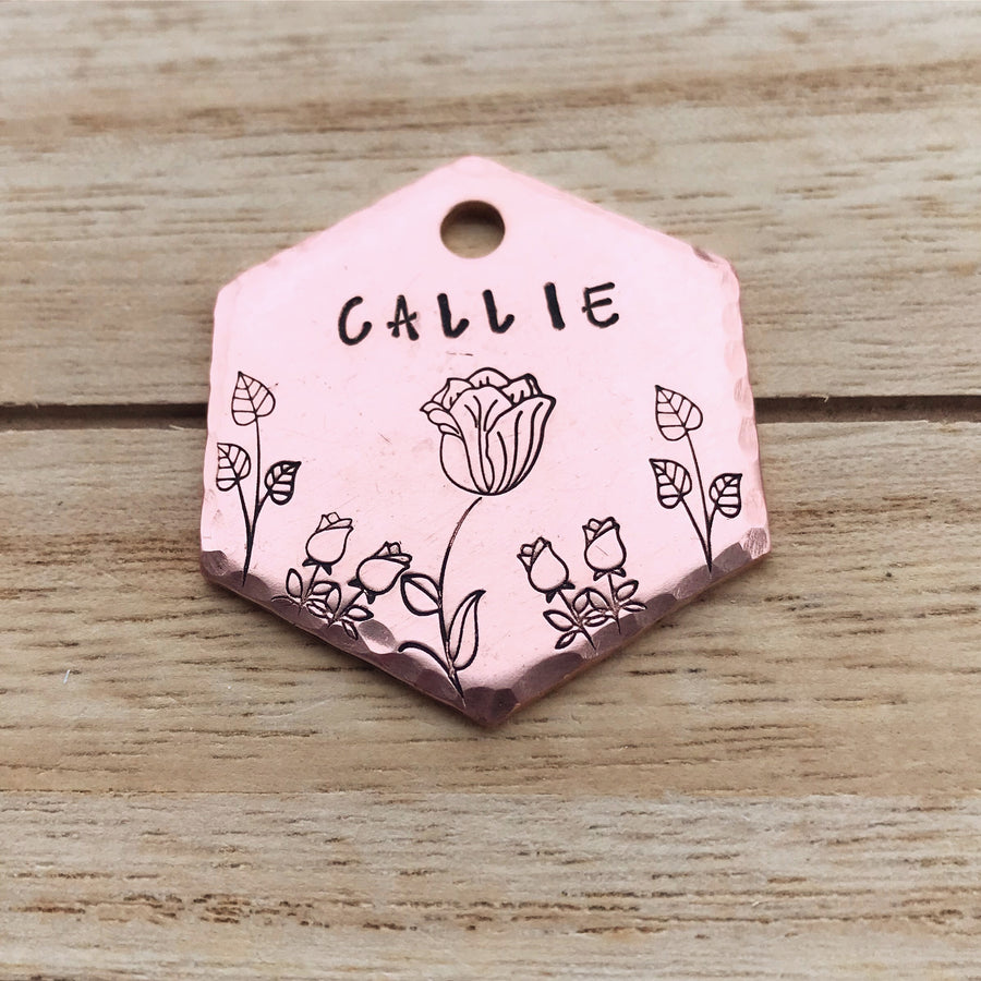 Calista- Spring Collection - Copper Paws Dog Tags