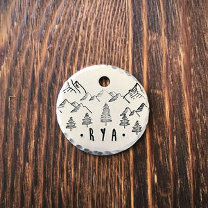 Sierra- Simple Style - Copper Paws Dog Tags