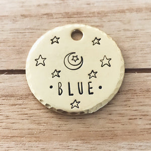 Stargazer- Simple Style - Copper Paws Dog Tags
