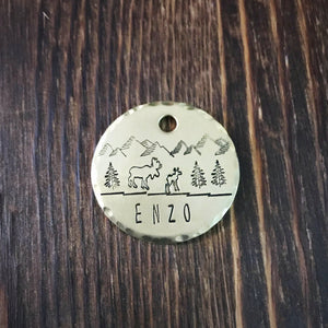 Marlow- Simple Style - Copper Paws Dog Tags