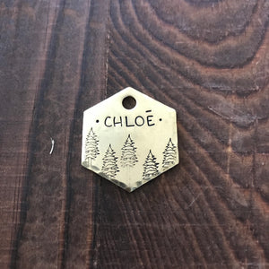 Reno- Kitty Tag - Copper Paws Dog Tags