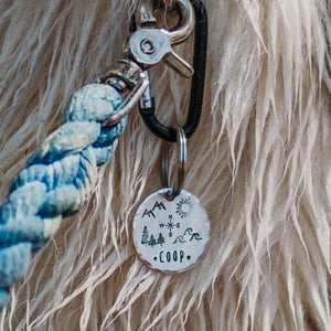 Explorer- Simple Style - Copper Paws Dog Tags