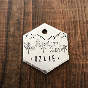 Oswald- Simple Style - Copper Paws Dog Tags