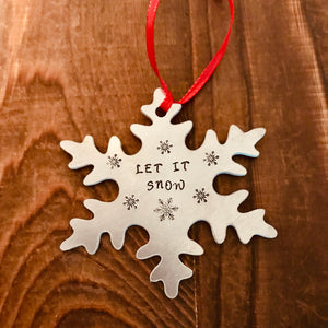 Snowflake Ornament - Copper Paws Dog Tags