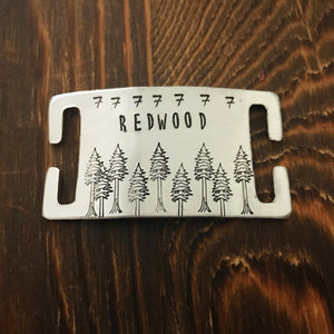 Redwood- Wild Slide - Copper Paws Dog Tags