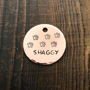 Wanderer- Simple Style - Copper Paws Dog Tags