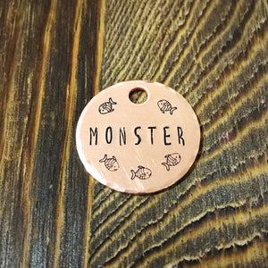 Tuna- Kitty Tag - Copper Paws Dog Tags