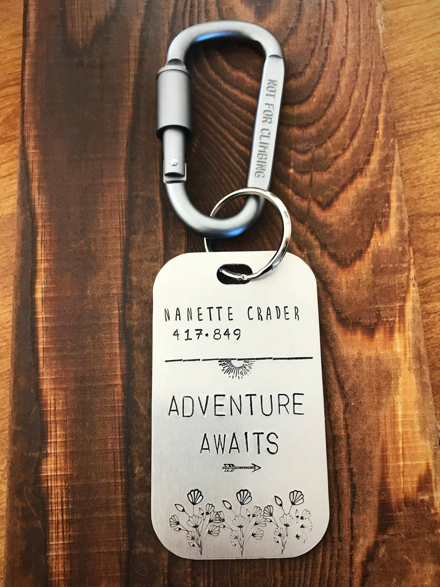 Adventure Awaits- Luggage Tag