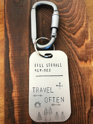 Travel Often- Luggage Tag - Copper Paws Dog Tags