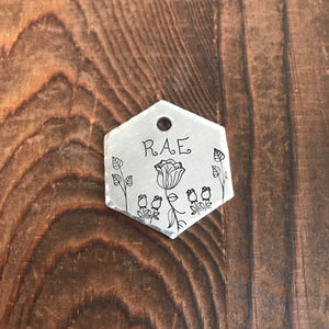 Calista- Simple Style - Copper Paws Dog Tags