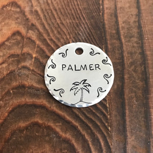 Palma- Summer Collection - Copper Paws Dog Tags