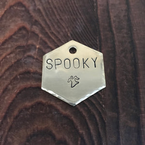 Halloween Choice- Kitty Tag - Copper Paws Dog Tags