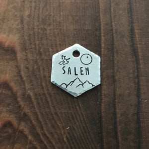 Salem- Kitty Tag - Copper Paws Dog Tags