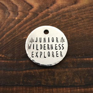 Junior Wilderness Explorer - Copper Paws Dog Tags