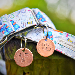 Hike On 2 - Copper Paws Dog Tags