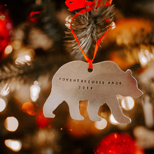 Big Bear Ornament - Copper Paws Dog Tags