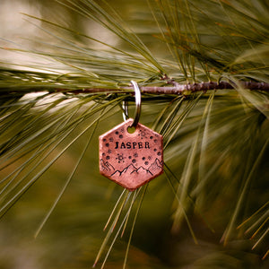 Jack- Winter Collection - Copper Paws Dog Tags