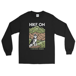Hike On Long Sleeve Shirt - Copper Paws Dog Tags