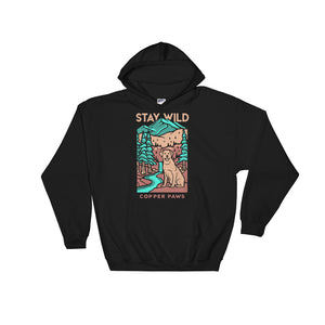 Stay Wild Hoodie - Copper Paws Dog Tags